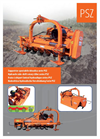 Model PSZ Series - Side Shift Rotary Tiller Brochure