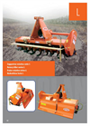 Ortolan  - Model Series L - Rotary Tiller - Brochure