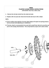 Waterpump Bearing - Star Closing Wheel Installation Manual