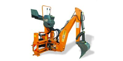 Tifermec - Model Green Line series  L13 - Backhoes