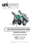 Half-trailed Sprayers for Herbicides Manual- Brochure