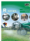 Trailed Field Sprayer with Tank- Brochure