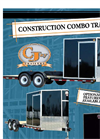 FX9-620 - Construction Combo Trailer Brochure