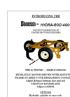 Stoess - Model 4000 - Hydra Rod Weeder - Brochure