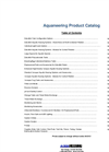 Aquatic Housing Product Catalogue