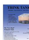 Fish Transport Tanks Brochure