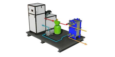 Model DHBXP - Preplumbed and Skid Packaged Boiler and Heat Transfer Systems