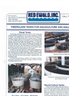 Fiberglass Tanks for Aquaculture and Aquarium - Brochure