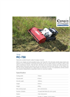 Timan - RC-750 - Remote Control Brush Cutter & Slope Mower - Brochure