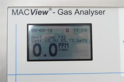 MacView - Model GA - Ethylene Postharvest Fixed Analyser