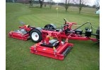 Progressive - Model TDR-12 - Tri-Deck Roller Mower