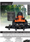 Lastec - Model 325EF - 72 - Out Front Cut Articulating Mower Brochure