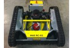 MAS - Model RC-02 - Twin-Rotary-Deck Slope/Brush Mower