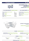 SPID - Model 9 - Strawberry Trays - Datasheet