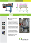Model I-PILE - Trays Feeder Brochure