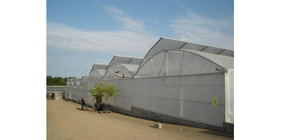 Truss  - Model 9.60 - Semi Ventilation Greenhouse