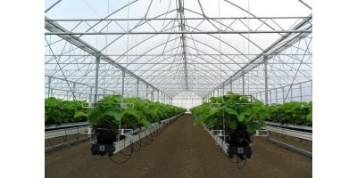 Truss  - Model 9.60 - Poly Ventilation Greenhouse