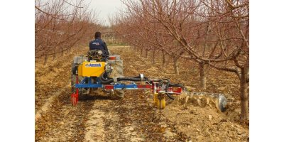 Model ECO Series - Single Orchard Tool Carrier with Hydraulic Widening