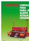 COMPAGNA - 22-95kW (30-130HP) - Combined Seeders  Brochure