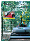 CarboGreen - Series L and M - Stone and Vegetation Burying Machine - Brochure