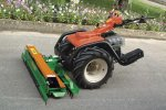 CarboGreen - Model Rast3 - Levelling Triple Rake for Walking Tractor with Selfbalancing System