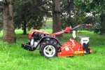 CarboGreen - Model Minimot - Selfbalanced Stone and Vegetation Burying Machine for Walking Tractors