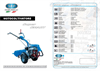 SUPER SMART - Model MTC - Two-Wheeled Tractors Brochure