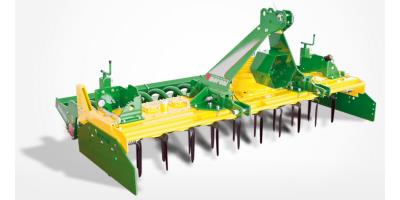 Compact - Model 3D - Q - K - KQ - Open Field Power Harrows