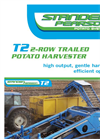 Standen - Model T2 - 2-Row Trailed Potato Harvester - Brochure