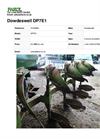 Dowdeswell DP7E1 Cultivation & Ploughs- Brochure