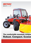 Metrac - G3 X - Two-Axle Mowers Brochure