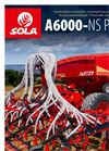 Model A-6000/NS PLUS - Pneumatic Seed Drills Brochure
