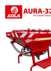 AURA - Model 3215 - Mounted Fertilizers Spreaders Brochure