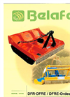 Model DFR-DFRE - Forest Flail Mower Brochure