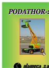 Podathor - Model 2P - Lifting Platform - Brochure