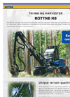 Rottne - H8 - Stand-operating Thinning Harvester - Tech Data Sheet