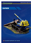 Reparoservis - KAPSEN - Professional Forest And Timber Machines - Brochure