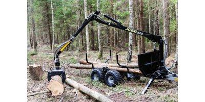 Vahva Jussi  - Model 320 - Forestry Cranes
