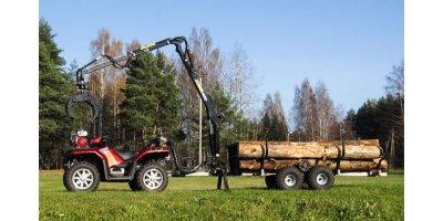 Vahva Jussi - Model 400 - Forestry Cranes