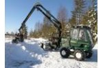 ENTRACON - Model EF45 - 8 Wheeled Forwarder