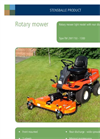 Model TM 2W1300 - Light/Medium Rotary Mower Brochure