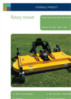 Model TH 1300 - Light/Medium Hydraulic Rotary Mower Brochure