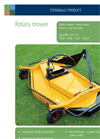Model BM/FM 1800 P - Medium/Heavy Duty Rotary Mower- Brochure