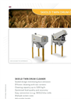 Twin Drum Cleaner- Brochure