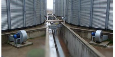 Grain Silo Aeration System