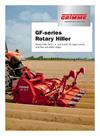 Model GF-Series - Rotary Hiller - Brochure