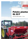 Model GL32F - 2-Row Cup Planter - Brochure