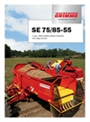 Model SE 75/85-55 - Single-Row Potato Harvester - Brochure