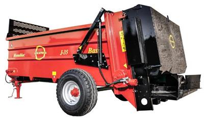 Juscafresa - Model Basic MHD2 - Manure Spreaders / Muck Spreaders Fruit Trees Agricultural Trailers