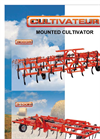 CT3080 - 3080R - 3 Rows Mounted Fix and Foldable Cultivator Brochure